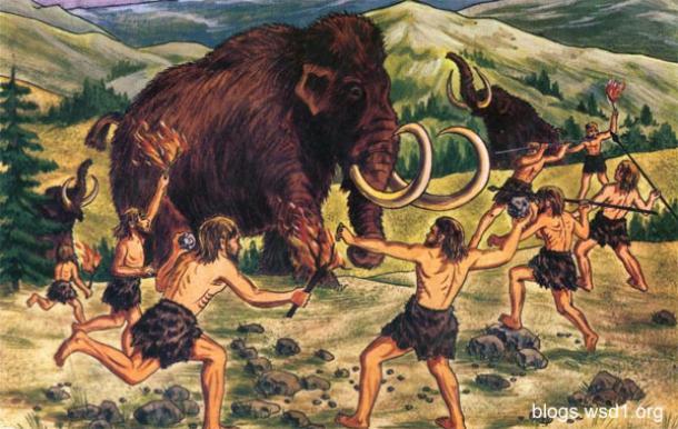 Neanderthals-drive-mammoth-2