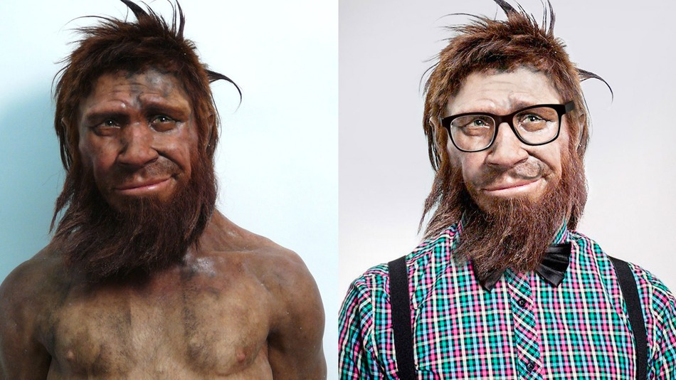 neanderthal hipster